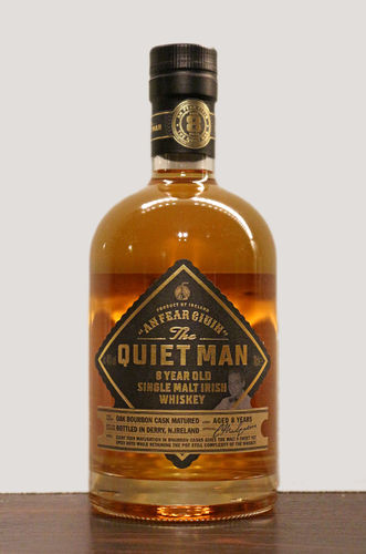The Quiet Man 8 Jahre Single Malt Whiskey