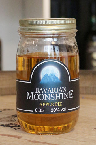 Bavarian Moonshine - Apple Pie