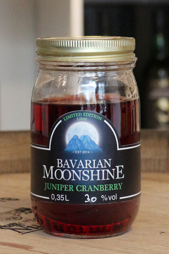Bavarian Moonshine - Juniper Cranberry