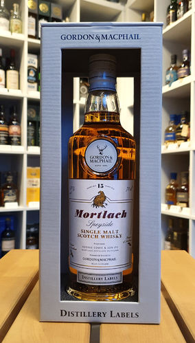 Mortlach 15 Distillery Label GM