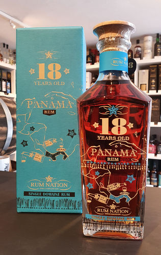 Rum Nation Panama Rum 18 Years Old